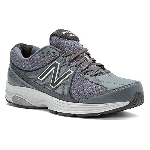 New Balance Mens MW847V2 Walking Shoe Grey/White