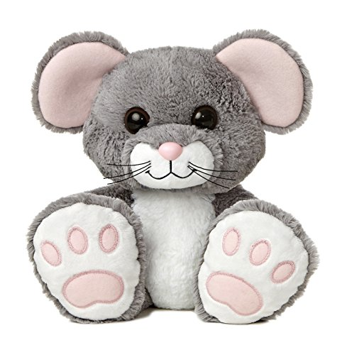 Aurora World Taddle Toes Scurry Mouse Plush, 10