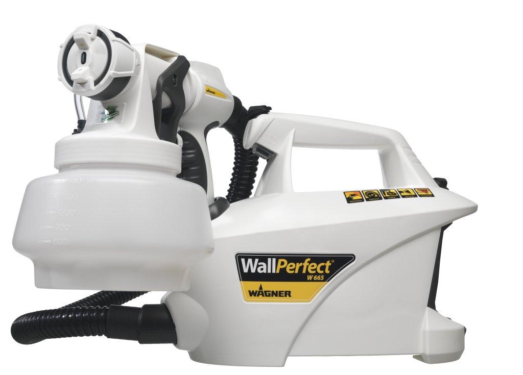 Wagner wallperfect w 665 i spray hvlp paint spraying for Pistolet de peinture wagner