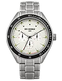 BEN SHERMAN - Wristwatch, Analog Quartz, Stainless Steel, Men