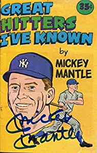 Mickey Mantle Autographed Mini Comic (JSA)