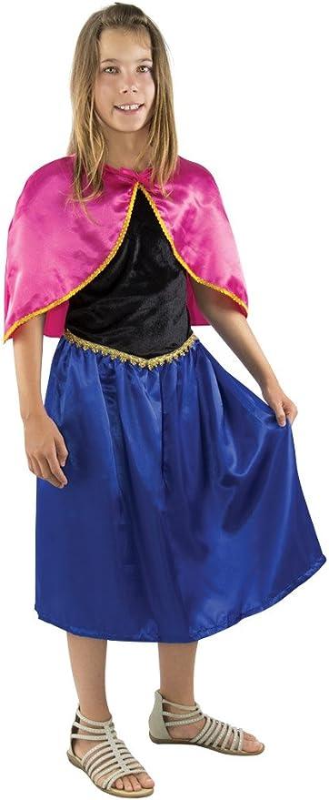 P Tit Payaso re14164 – Disfraz Infantil Reina de los Helados Azul ...