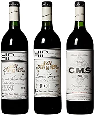 Hedges Family Estate Washington Reds II Mixed Wine Pack, 3 x 750 mL