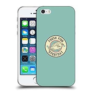 Super Galaxy Coque de Protection TPU Silicone Case pour // V00000601 Logotipo retro del vector // Apple iPhone 5 5S 5G SE