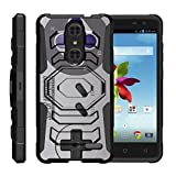 Cheap TurtleArmor | Compatible for ZTE Grand X 4 Case | Grand X4 Case | ZTE Blade Spark [Octo Guard] Dual Layer Case Holster Belt Clip Sturdy Kickstand Cover – Classic Game Controller