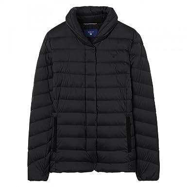 uk availability a12e6 13f1d GANT Leichte Daunenjacke Damen M Black: Amazon.de: Bekleidung