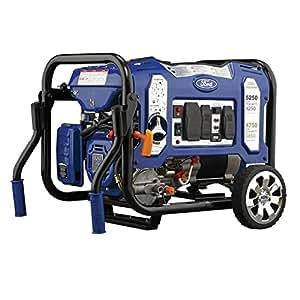 Ford FG5250PBR Dual Fuel Generator, Peak 5250W