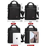 Soperwillton Vertical Shoulder Messenger Bag for