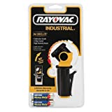 Rayovac 2AA Industrial Swivel Flashlight with Two HD AA Size Batteries