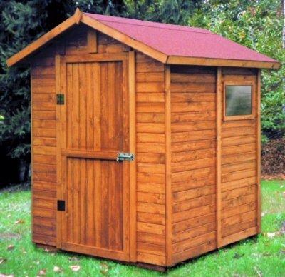Caseta 160 x 164 cm Mughetto madera de 19 mm incluye suelo y ventana: Amazon.es: Jardín