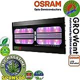 LED Grow Lights Full Spectrum with UV & IR, 800 Watts OSRAM Horticulture LEDs, GROWant G5 HiPAR Series G800 Black, Best for Indoor Plants Veg and Flower, Aluminium Alloy Material Review