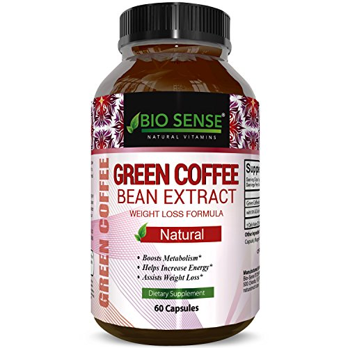 100 Pure Green Coffee Bean Extract Highest Quality 800 Mg Best Weight Loss Formula For Women And Men Natural Diet Pills Fat Burner Metabolism Booster