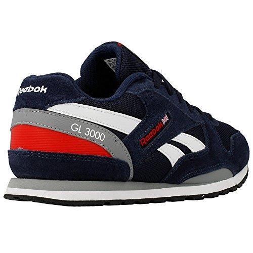 store cheap price buy cheap cheap Reebok - GL 3000 - Color: Navy blue-Red-White - Size: 5.0 sfJqm7E
