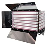 LimoStudio Photography Photo Video Studio 1650W Digital Light Fluroescent 6-Bank Barndoor Light Panel, AGG993