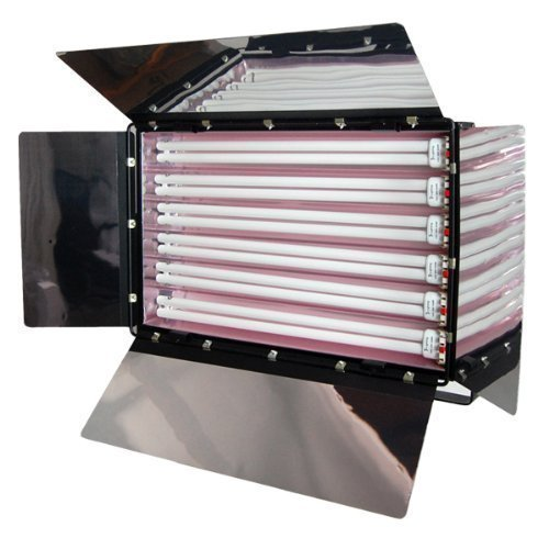 LimoStudio Photography Photo Video Studio 1650W Digital Light Fluroescent 6-Bank Barndoor Light Panel, AGG2488 by LimoStudio