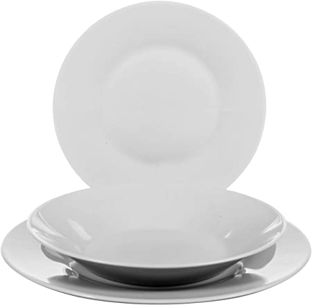 Luminarc 65304 Athenais Service de Table 18 Pi/èces Opale