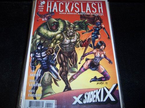 Hack/ Slash Super Sidekick Sleepover Slaughter Part 3 of 3 X-Sidekix #32
