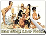 Movie Poster 80 - You Only Live Twice - 007 Standard Cutting Board