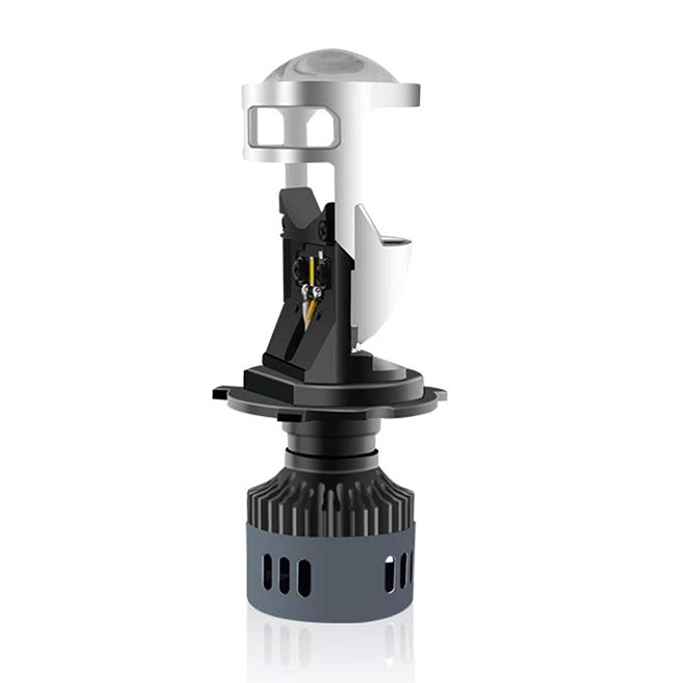 ビジター急ぐ薬を飲むRAYD(レイド) LEDヘッドライト 3面発光 H4/PH7/PH8対応 Hi/Lo切替式 30W/20W 最新モデル交流取付可能