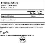 Swanson Cognizin Citicoline 1,000 Milligrams 60 Veg Capsules