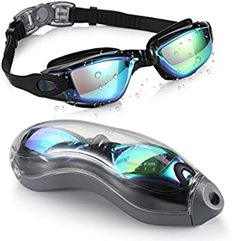 Aegend Swim Goggles with Free Protection Case