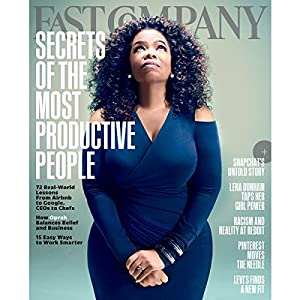 Audible Fast Company, November 2015 Periodical