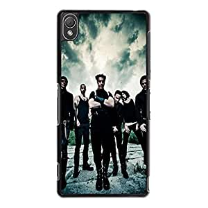 Hot Design Rammstein Phone Case Cover For Sony Xperia Z3 Rammstein Unique Design