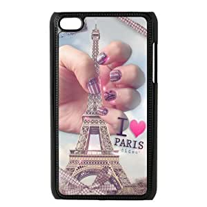 Custom Eiffel Tower Back Cover Case for ipod Touch 4 JNIPOD4-632 Kimberly Kurzendoerfer
