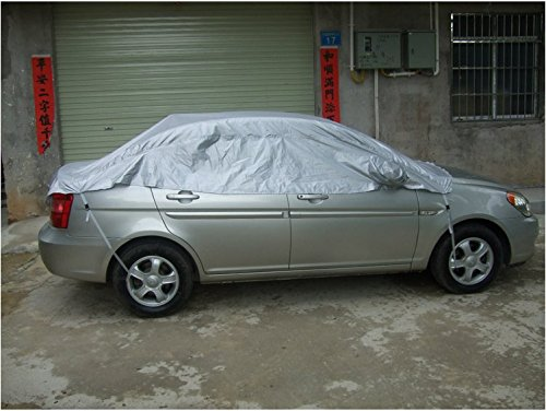 Car Cover,Windshield Rain Snow UV Protect Universal Sedan Motor Car Cover for All Season Weather YUIOP