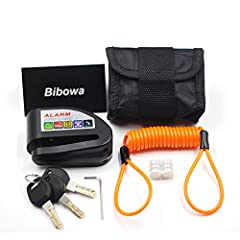 Bibowa Alarm Disc Lock-Silver Knight is a practical solution for bikers to protect their beloved motorbikes or scooters while parking outside or at home.Made of high quality stainless steel case, guarantee high security and firmness for your ...