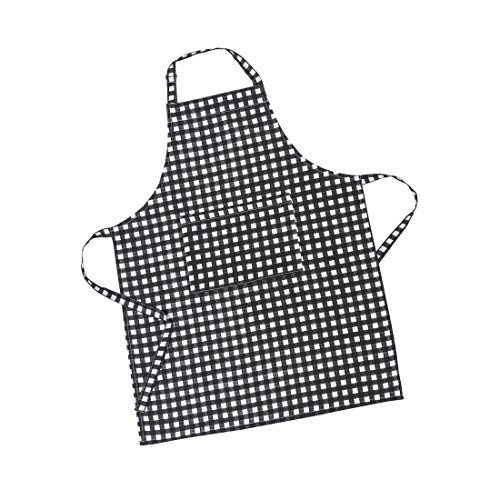 LinenTablecloth Black and White Checkered Chef Apron
