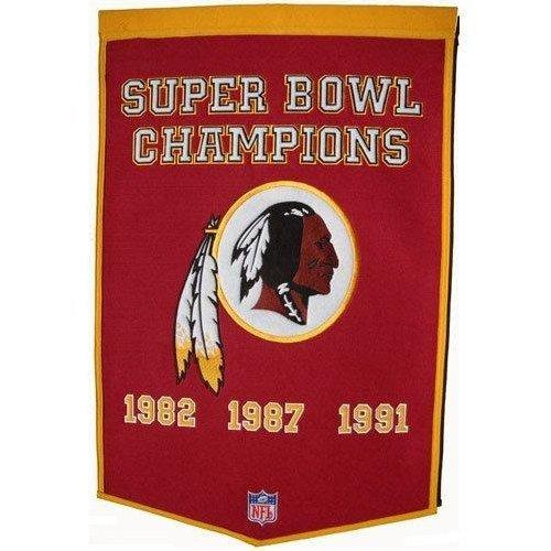 (NFL Washington Redskins Dynasty Banner)