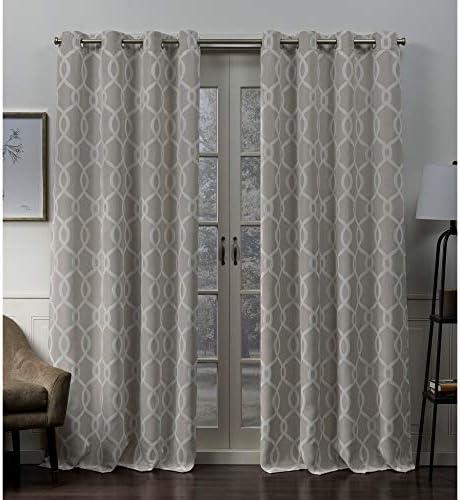 Exclusive Home Curtains Trilogi Panel Pair