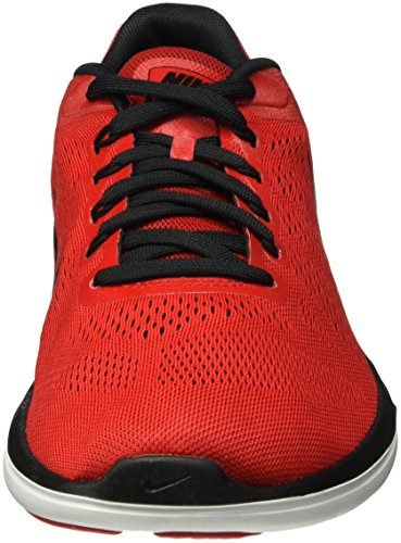 Nike Flex 2016 Rn, Zapatillas de Running para Hombre, Verde Rojo (University Red / Black-White-Blk)