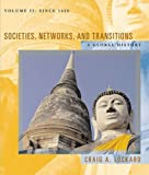 Societies, Networks, and Transitions, Craig A. Lockard, 0618386130