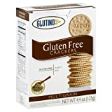 Glutino Gluten Free Crackers Multigrain -- 4.4 oz (Pack of 6)