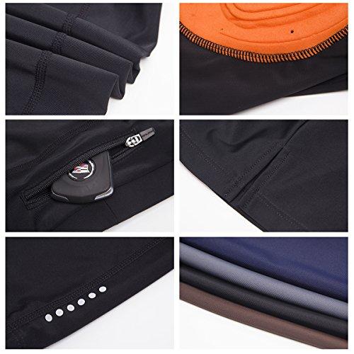Eco daily Women's Premium 4D Padded Cycling Pantskirt Elastic Comfortable Cycling 3/4 Tights & Length Pants