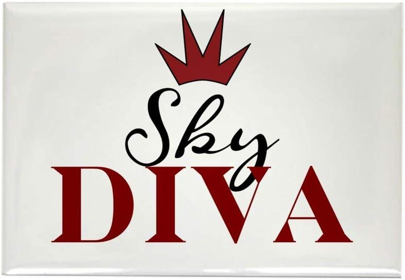 "CafePress Sky Diva Rectangle Magnet, 2""x3"" Refrigerator Magnet"
