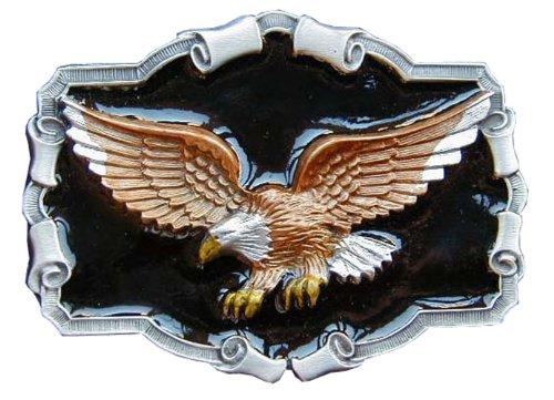Colored Buckle (Eagle Colored Novelty Belt)