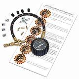 Rapid Air Down Tire Deflator Offroad Kit, PSI