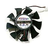 Actor FD8015U12S DC BRUSHLESS FAN 12V 0.5A 75mm 39x39x39mm Graphics/Video Card Fan 2Pin XFX HD6770 HD6850 HD4860 Graphics Card Fan