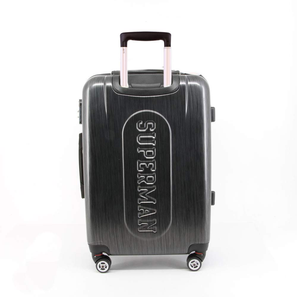 Superman S-ABS Trolley-Koffer Bagage Cabine 70 liters Gris