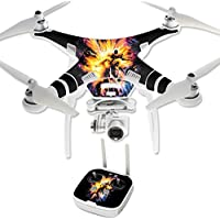 Skin For DJI Phantom 3 Professional – Leo Galaxy | MightySkins Protective, Durable, and Unique Vinyl Decal wrap cover | Easy To Apply, Remove, and Change Styles | Made in the USA