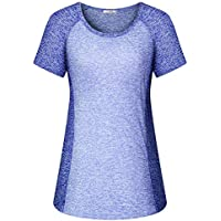 Viracy Women's Short-Sleeve Yoga Workout Top (several colors)