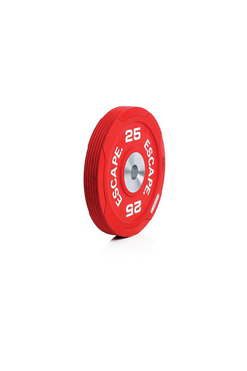 Elite Compitition Bumper Plate 25kg, einzel-Disc