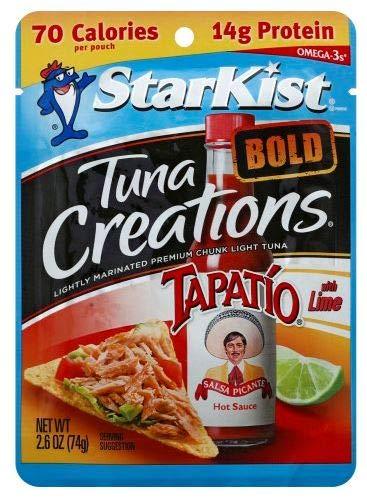 NU Health Tuna Meal Kit Tapatio 24 Pack