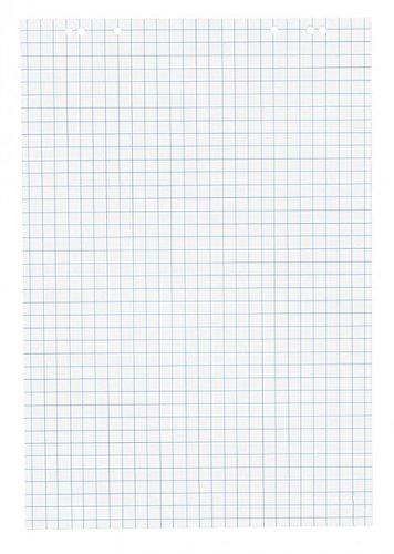 6 fach Lochung f/ür Flipchart 1x Flipchartblock kariert Block mit 20 Blatt 69x99 cm perforiert