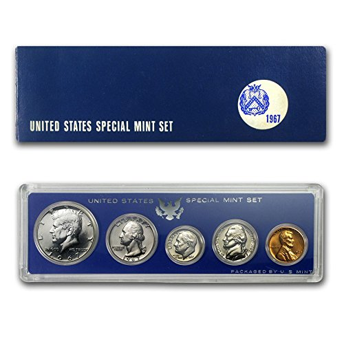1967 Special US Mint Set from Mint Sets