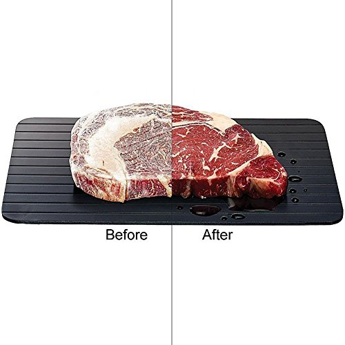 defrosting tray Natural Thawing Frozen Meat or Fish Rapid Time saving Safely Healthy Keep Food Fresh and Remain Original Taste