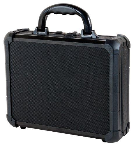 T.Z. Case International TZM0011 BD 12 x 9 1/2 x 3 1/2-Inch Single Pistol Case, Black Dot - Case Pistol Aluminum